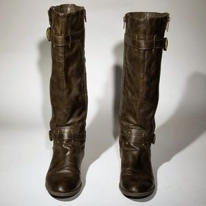 Diba Shoes - Diba brown NON leather boots - Size 9.5
